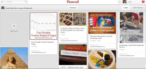 Cindy's Ancient History Pinterest Board