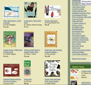 Huge list of living literature to go with nature and science topics