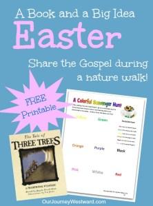 The Tale of Three Trees: Nature Walk (Free Printable)
