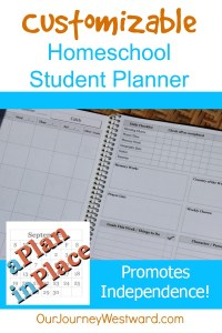 Student Planner: Homeschooling with A Plan in Place