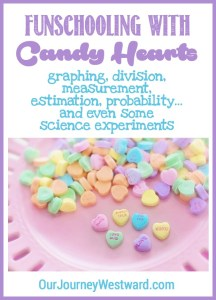 Your Children Will Love Funschooling with Candy Heart Lessons