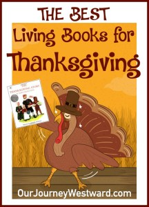 Our Favorite Thanksgiving Living Books