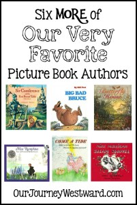6 MORE of Our Family's Favorite Picture Book Authors