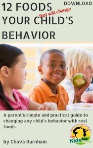 foods that will change behavior