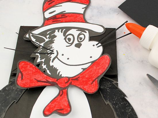 Cat In The Hat Paper Bag Craft Our Kid Things