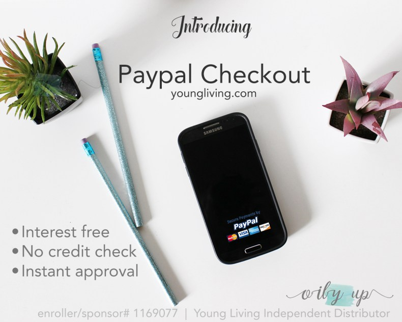 Young Living Paypal Checkout