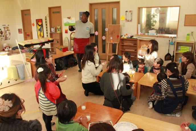 Storytime at I.A. Matsumoto