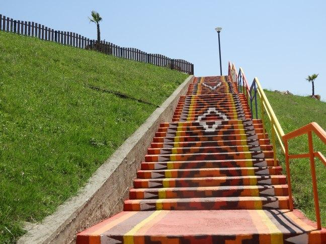 Colorful Stairs, Tirana