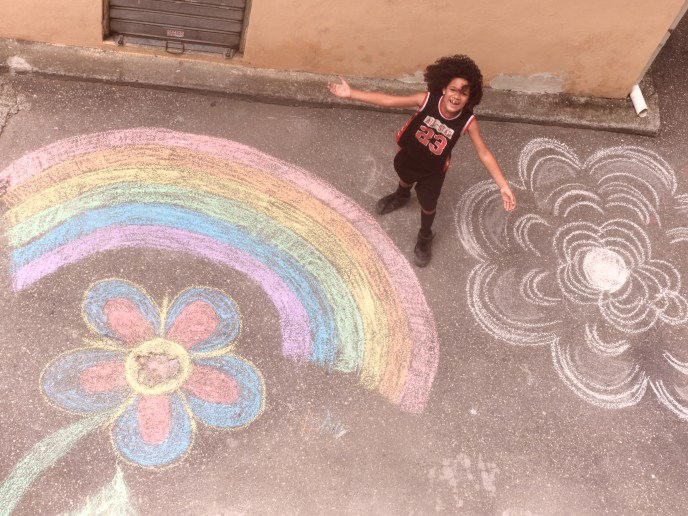 His Masterpiece in Chalk