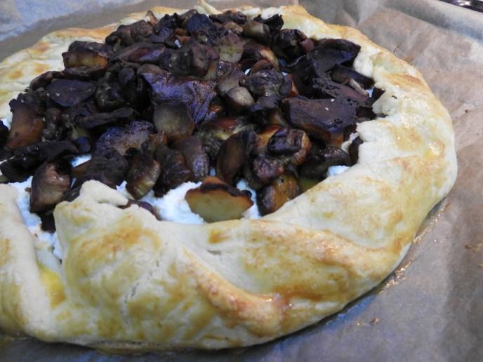 Albanian Porcini Crostata