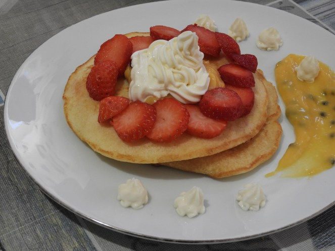 Passionfruit Pancakes, body positivity, food freedom, health at every size (HAES)