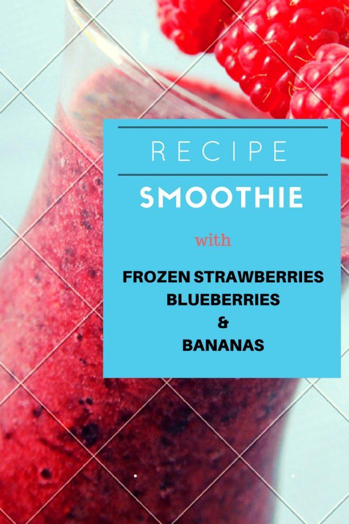 frozen strawberry smoothie recipe