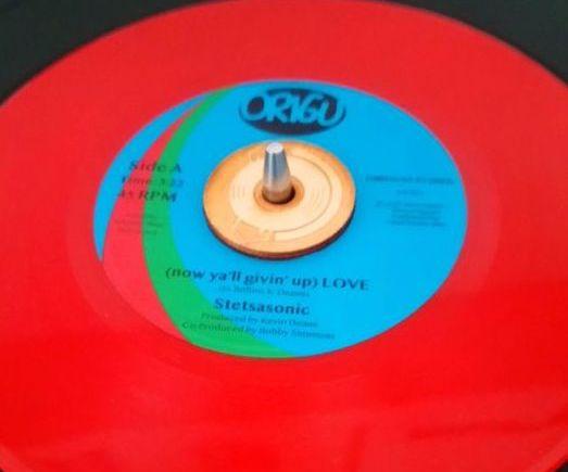 Stetsasonic limited red colour vinyl on Origu.de