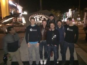 Funk-Zombies: Mune_Ra, Gu, David, Kimo, Legbo, Martin and Tom