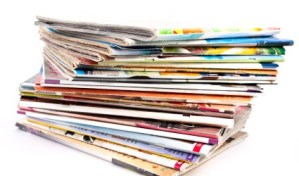 donate magazines to Our Lady of Grace Church