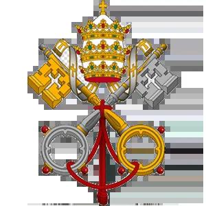 Our Lady of Peace - Catholic Church - The Vatican Logo - Innisfail, Alberta