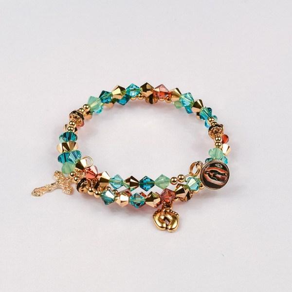 Special Devotions Respect Life Rosary Bracelet