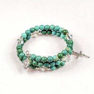 Natural Gemstones Turquoise Magnesite