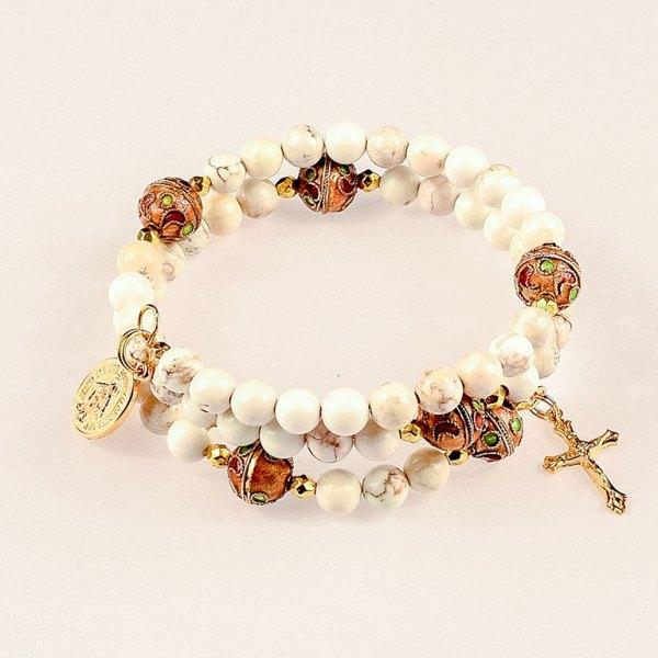 natural gemstones white magnesite