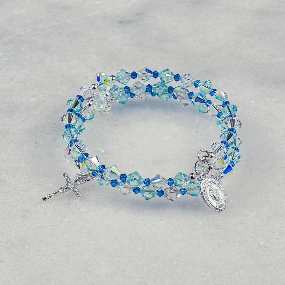 Assumption of Mary Rosary Bracelet