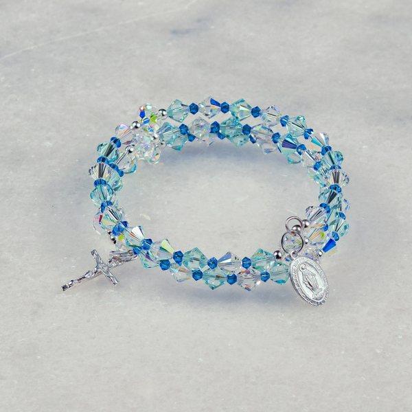 Assumption of Mary Rosary Bracelet