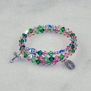 Butterfly Garden Rosary Bracelet