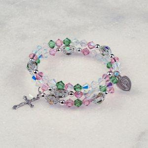 Mystical Rose Rosary Bracelet