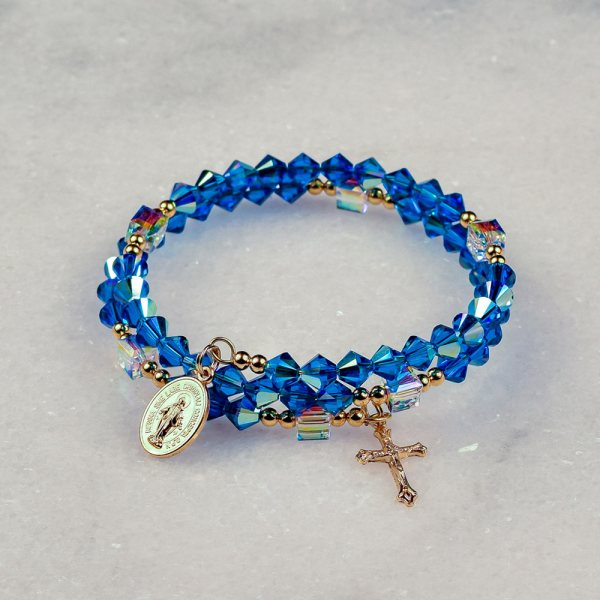 Star of the Sea Rosary Bracelet