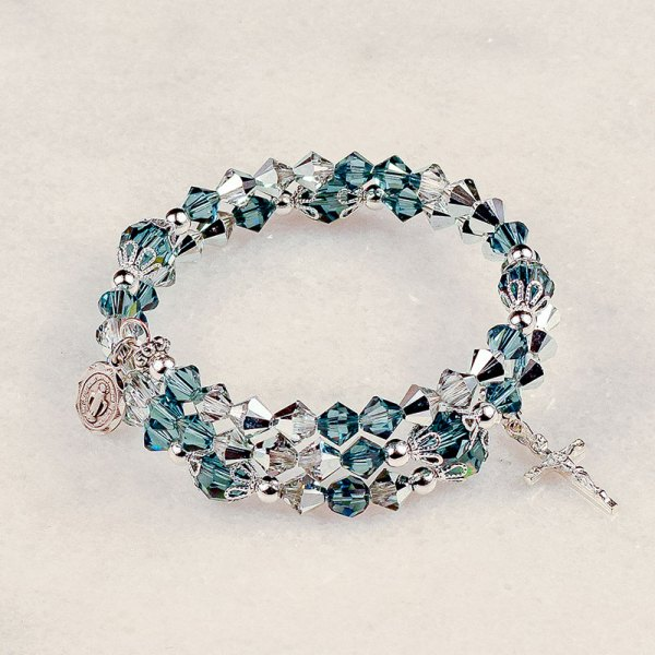 Our Lady Of The Miraculous Medal Rosary Bracelet