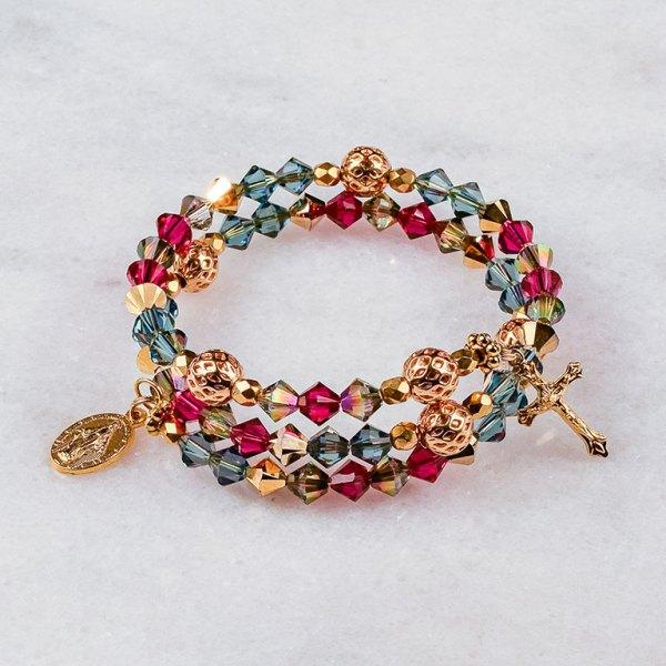 Baroque Rosary Bracelet