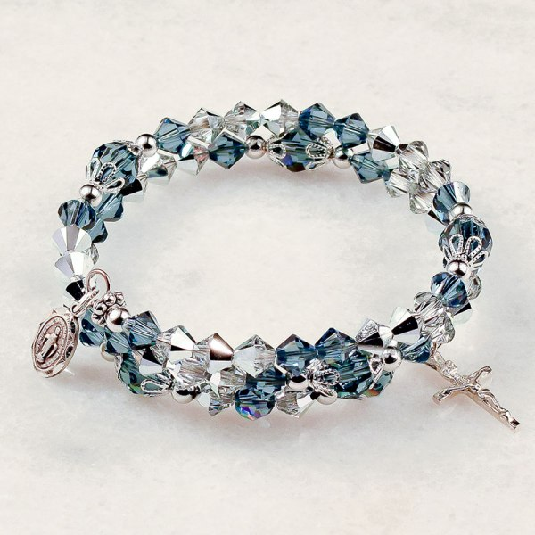 Our Lady Miraculous Medal Rosary Bracelet