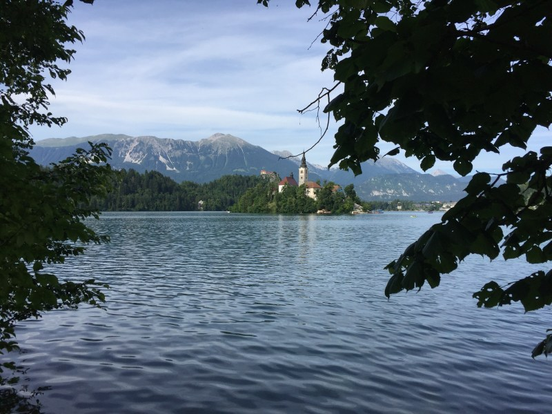 You could only describe Bled as out of this world, with its crystal clear emerald green waters and a back drop of snow capped mountains.