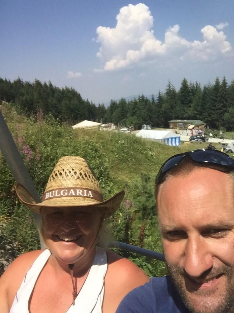 Panichishte, Bulgaria ski lift