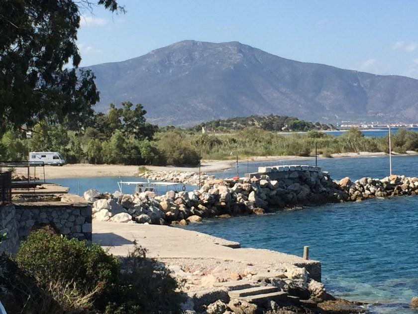 Paralia Agiou Andrea harbour, Greece