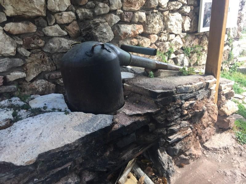 A traditional still - Open air water powered museum Dimitsana, Greece