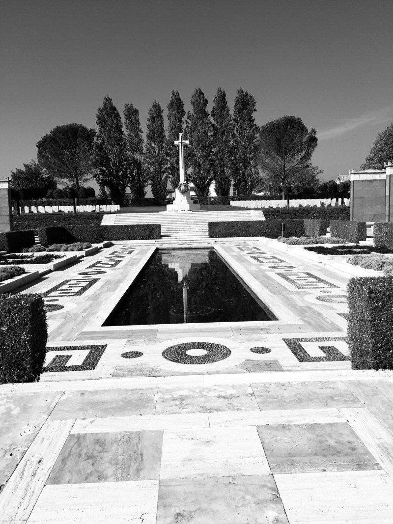 heart of Cassino War Cemetery, the Cassino Memorial