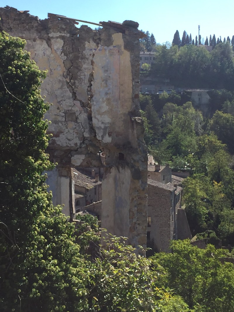Just hanging on Sorano Italy