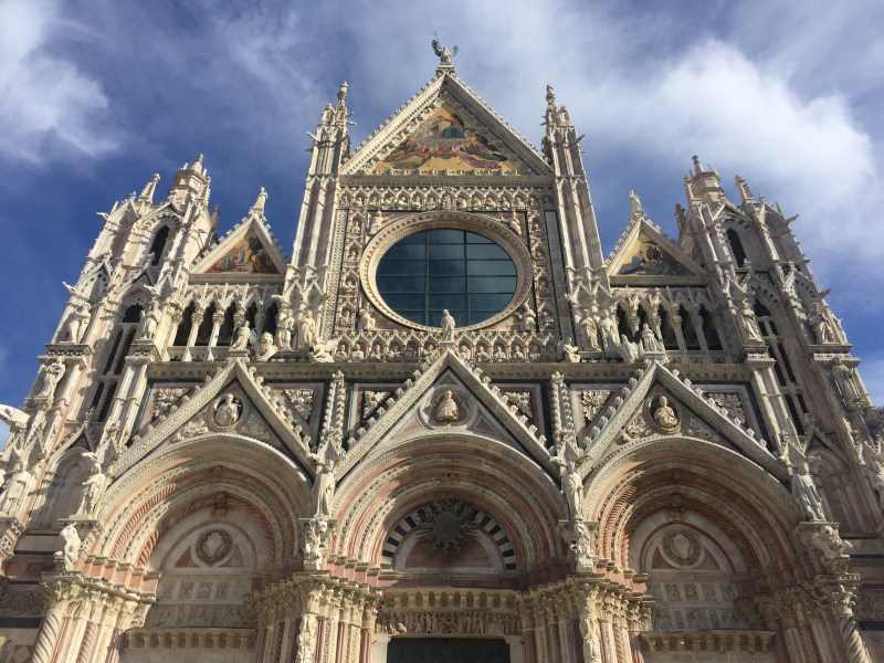 "the ""Duomo Nuovo"" (New Cathedral). Siena Italy"