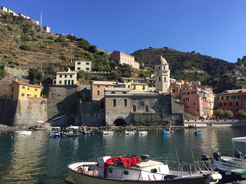 Harbour view- More perfect Cinque terre motorhome pictures