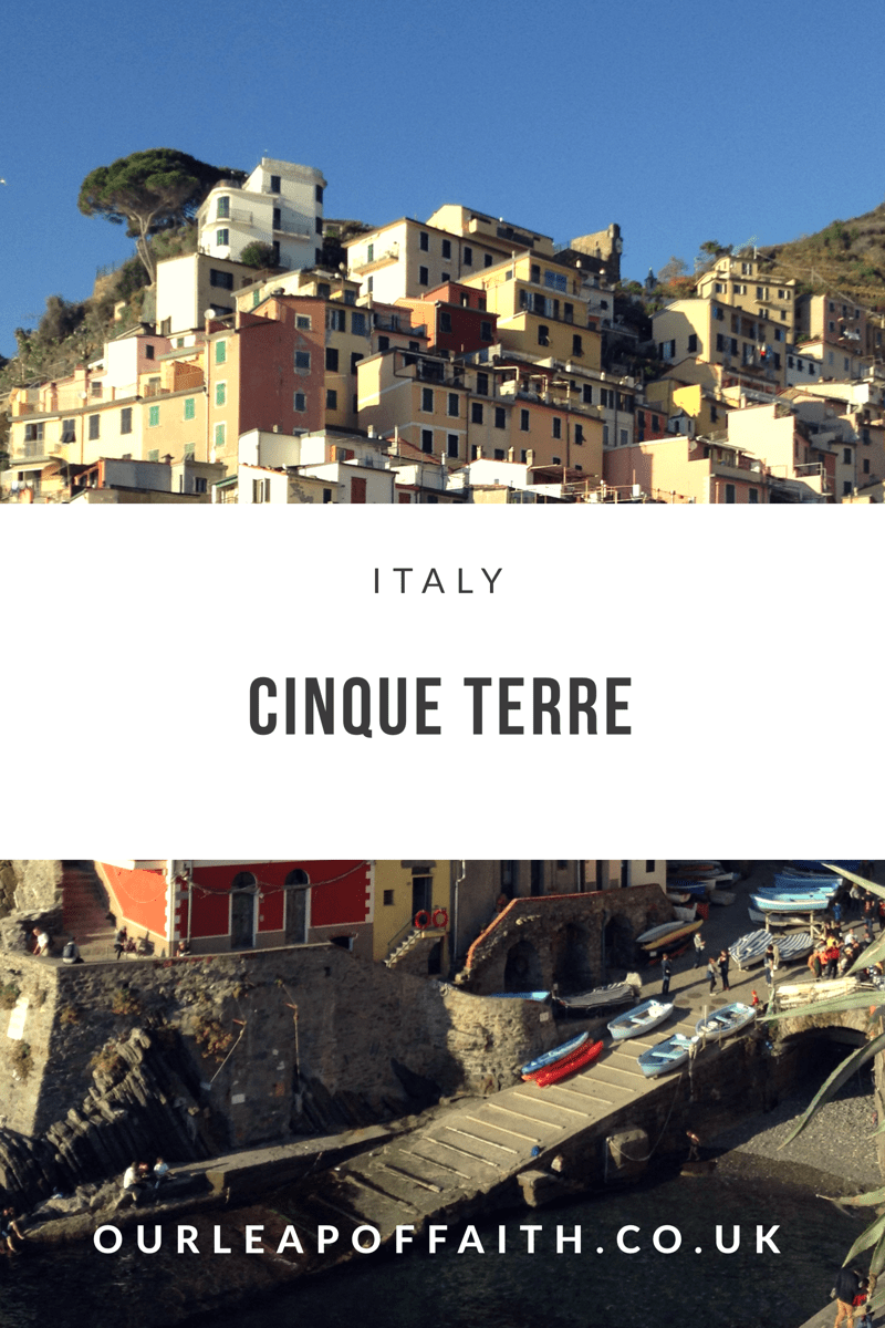Ultimate guide to take a motorhome to visit the Cinque Terre, Italy, Europe
