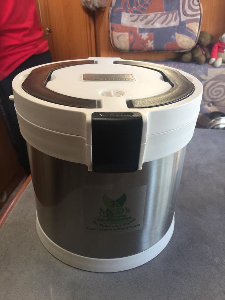 Mr d thermal cooker, in a motorhome