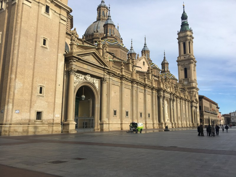 mesmerizing inside and out Zaragoza church must be seen to be believed