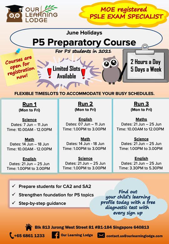 P5 Preparatory Course