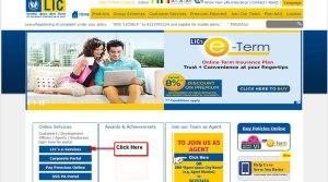 LIC e-services get premium paid certificate online