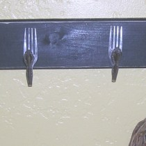 Fork Hook Shelf