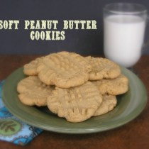 Soft Peanut Butter Cookie