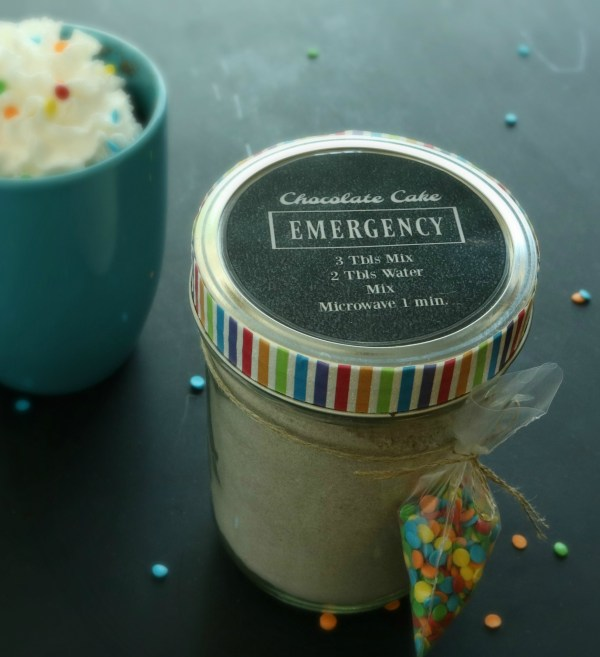 Emergency Chocolate Cake | www.ourlifeinspired.com