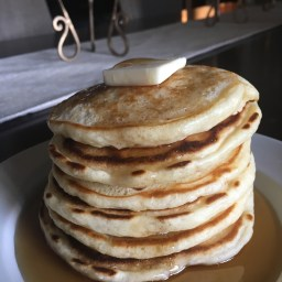 fluffy pancake recipe.