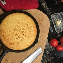 Jalapeno and Cheese Cornbread.