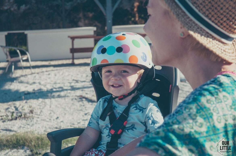 Fotelik rowerowy Hamax Siesta, Our Little Adventures